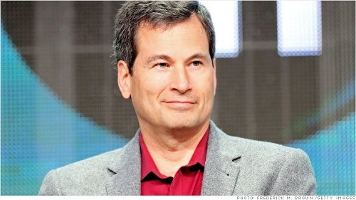 Yahoo hires David Pogue