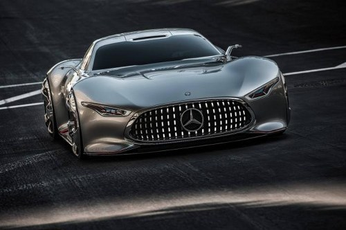 Mercedes-Benz reveals AMG Vision Gran Turismo