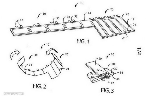 Nokia's new patent the foldable battery