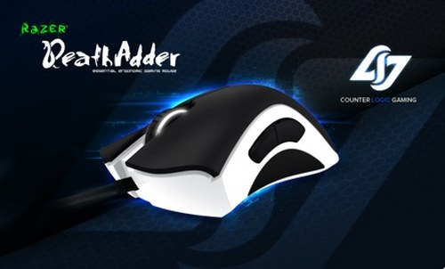 Razer's new Counter Logic Gaming Razer DeathAdder gaming mouse