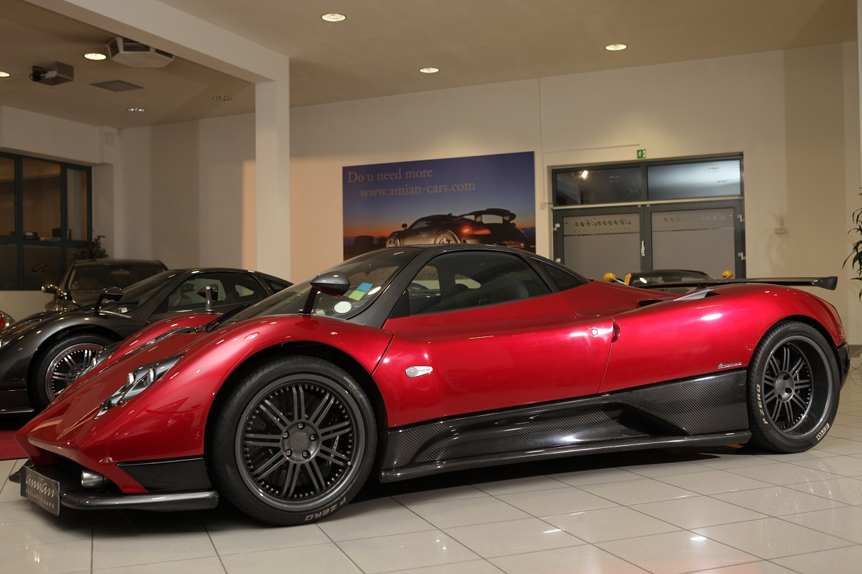 Amian Cars is selling four used Pagani Zondas » Every Tech