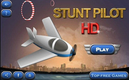 Free game for BlackBerry users Stunt Pilot