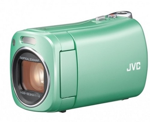 JVC will release antibacterial-coated AVCHD video camera BabyMovie GZ-N1
