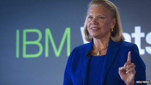 No bonuses for 2013 for IBM chief executive and senior management