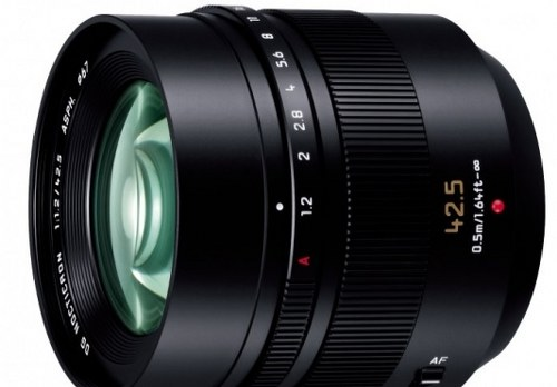 Panasonic interchangeable lens LEICA DG NOPanasonic interchangeable lens LEICA DG NOCTICRON 42.5mm F1.2 ASPH. POWER O.I.S. H-NS043