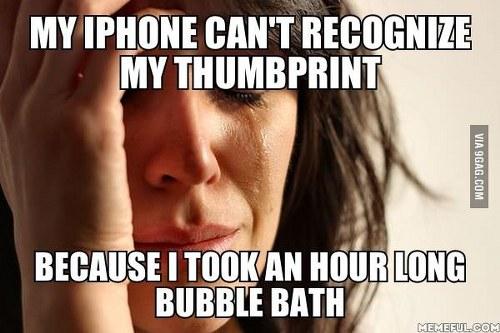 iphone thumbprint