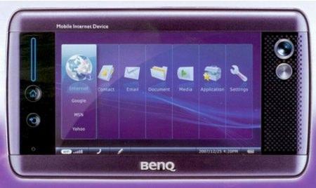 BenQ's Atom MID