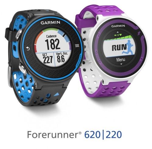Garmin Forerunner 620 and Forerunner 220