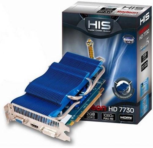 HIS Radeon HD 7730 iSilence 5 Graphics Card