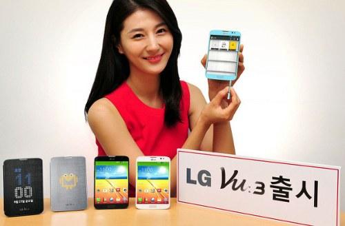 LG Vu 3 smartphone