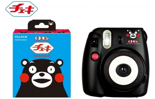 Fujifilm limited edition Kumamon Cheki camera