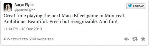 BioWare next Mass Effect game