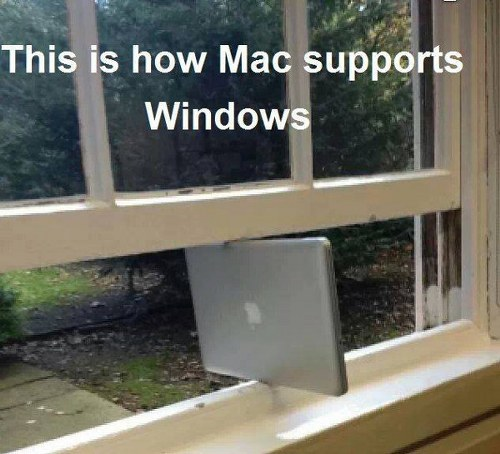 Mac supporting Windows