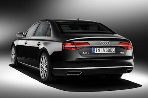 Audi A8 L Security bulletproof vehicle with offical certification
