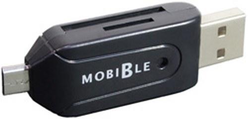 Miiyoshi dual interface SD microSD card reader SCR-SD03BK