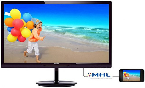 Philips 28-inch MHL-ready Full HD monitor