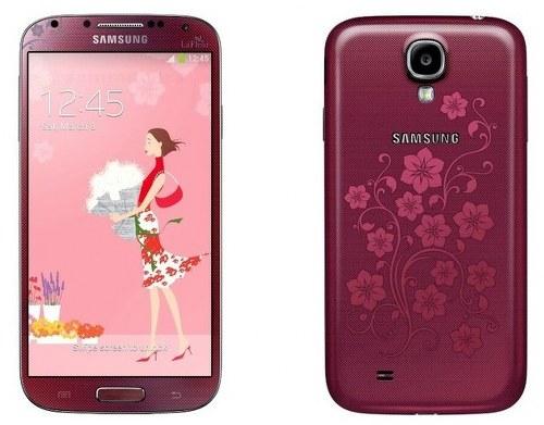 Samsung reveals Samsung Galaxy S4 Le Fleur